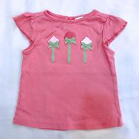 1265.【USED】Three Flower Girl  T-shirts