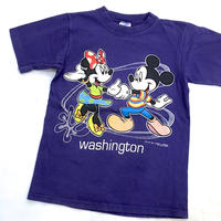 1362.【USED】Made in U.S.A. Disney T-shirts