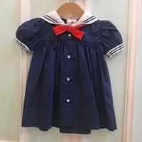 561.【USED】Marin Sailor Dress