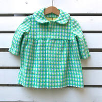 141.【USED】Vintage Zigzag pattern Coat