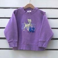 699.【USED】Bambi Purple  Sweat