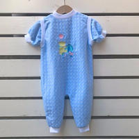 508.【USED】Blue Bear Rompers(made in U.S.A)