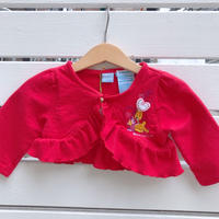 915.【USED】Winnie the Pooh Short Cardigan