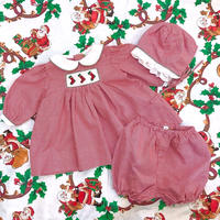 769.【USED】Christmas Dress 3pc set!