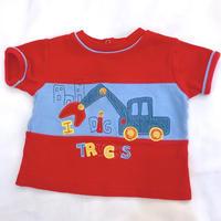 1281.【USED】'I DIG TRUCKS' T-shirts