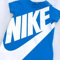 "1193.【USED】""NIKE"" Blue Rompers"