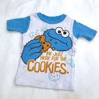 1345.【USED】 COOKIE  MONSTER T-shirts