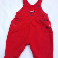 1161.【USED】White Red Blue Rompers