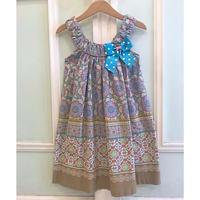 619.【USED】Big Ribbon Summer Dress