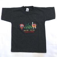 1213.【USED】'PERU' embroidery T-shirts