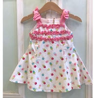 616.【USED】Happy Ice cream Frill Dress