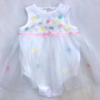 1466.【USED】Tulle Fluffy Rompers