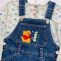 """1003.【USED】""""Winnie the Pooh"""" OverSkirt"""