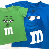 【USED】 'm&m's' T-shirts