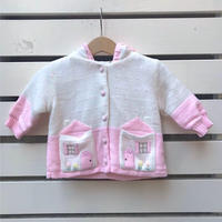 424.【USED】Pink Home Parker Cardigan