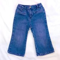 1515.【USED】Pink Purple Denim long pants