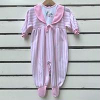 682.【USED】BabyDior Pink Rompers