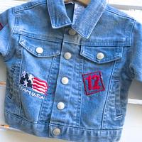 1054.【USED】TEAM U.S.A. Denim Jacket