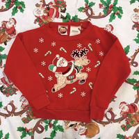 764.【USED】Christmas Candy cane Sweat