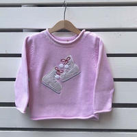 406.【USED】Skate shoes  Knit sweater