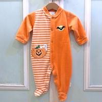 720.【USED】Bat Pumpkin Rompers