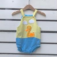 662.【USED】Sunshine Duck  Rompers(MADE IN U.S.A)