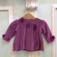 371.【USED】Ponpon Purple Tops