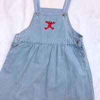 620.【USED】SESAME STREET  Denim Dress