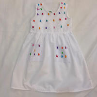 1729.【USED】Colorful Birds Dress