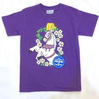 1308.【USED】KIRAKIRA  White Hose T-shirts