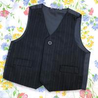 【18mos】Stripe Formal Vest 52.