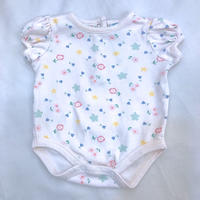 1459.【USED】Soft Flower  Rompers