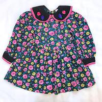 992.【USED】Rose Color Scheme Dress