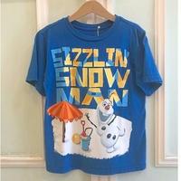 618.【USED】Frozen Summer Olaf  Tee
