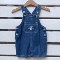 679.【USED】Sesame street Cookie monster  Overall