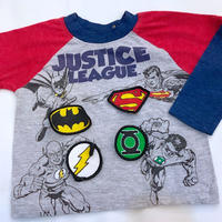 """1135.【USED】""""JUSTICE LEAGUE""""  Tops"""