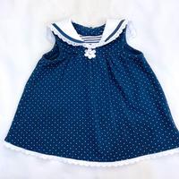 【6mos】Dot Sailor Dress 1871.