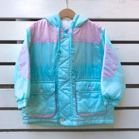 381.【USED】Ice Blue Nylon Jacket