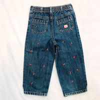 1513.【USED】Cherry Denim long pants