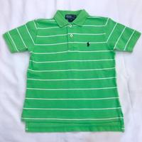 610.【USED】Ralph Lauren Polo shirt LightGreen