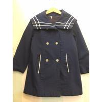 75.【USED】Vintage Sailor collar light coat