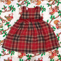 779.【USED】Plaid Red Dress