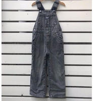 701.【USED】OSHKOSH Black Overall