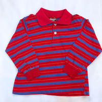 1130.【USED】Red Blue Line CollarTops(made in U.S.A.)