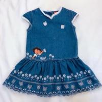"""1120.【USED】Denim """"DORA"""" Dress"""