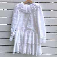 936.【USED】White Lace Dress