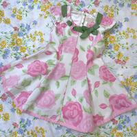 【3T】Flower Design Mini Dress 33.