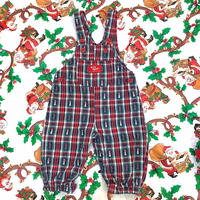821.【USED】Happy Snowman Overall