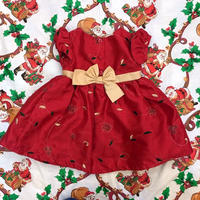 777.【USED】Red Present Dress