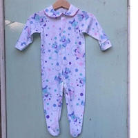 739.【USED】Colorful Clown Rompers